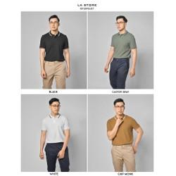 Áo thun ROUTINE - Áo thun cổ bẻ nam 4 màu form fitted vải cotton cao cấp -10F20POL017 - Shop LA STORE
