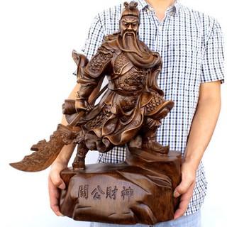Tượng Quan Công trang trí Trấn Gia Trạch Xua Tan Vận Xui Cho Gia Chủ - QC2623 thumbnail