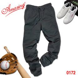 Big size, Quần jogger kaki nam cao cấp, sắc màu trẻ trung, phong cách thể thao cá tính, gấu quần bo chun, màu xám đậm