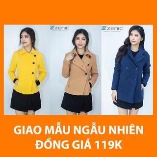 Áo khoác dạ Zenic dáng áo ngắn - Giao mẫu ngẫu nhiên - NGAUNHIEN thumbnail