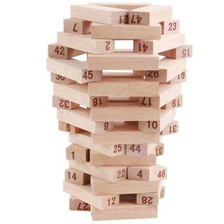 Bộ đồ chơi rút gỗ 54 thanh - Bộ đồ chơi rút gỗ 54 thanh thumbnail