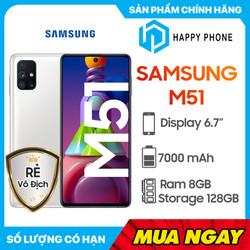 Điện Thoại Samsung Galaxy M51 (8GB/128GB) - Hàng chính hãng,...