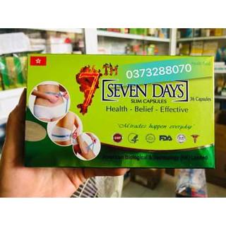 Viên Uống Giảm Cân SEVEN DAYS Slim capsules - seven days thumbnail