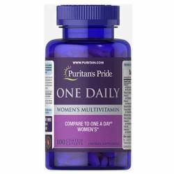Vitamin tổng hợp nữ One Daily Women's Multivitamin Puritan's Pride 100 viên 1 viên/ngày