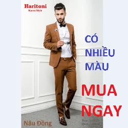 Bộ đồ vest nam ,Dáng Trẻ,Haritoni Korea Style,Vest Nam,co giãn Cao Cấp