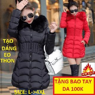 ÁO PHAO Stylenew,Áo khoác nữ big size dài - AOPHAODAICAOCAP ,102 thumbnail