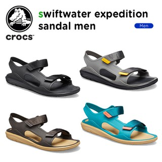 Giày nhựa -crocs- đi mưa Swiftwater Expedition chống hôi chân. giầy sandal crocs Expedition cho nam. chống trơn trượt. Giày -crocs- đi biển, đi phượt - CNX1002 thumbnail