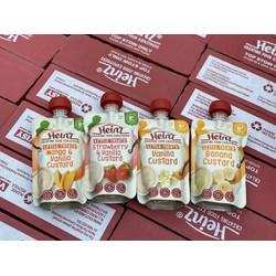 Váng sữa hoa quả nghiền Heinz Úc cho bé từ 6 tháng 120g