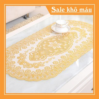 Khăn trải bàn nhủ vàng 60x120cm - KTB1M2-1 thumbnail