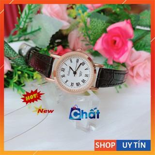 Đồng hồ nữ Ulzzang dây da cao cấp, xịn sò fullbox, đẹp mê ly, phong cách thời trang sinh viên Hàn Quốc - DH Ulzzang thumbnail