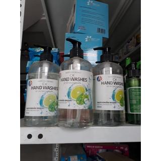 Combo 5 chai nước rửa tay khô dạng nước - Chai 500ml thumbnail