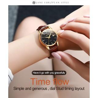 Đồng hồ đôi nam nữ chính hãng OLEVS, dây da bò cực mềm, fulbox chính hãng, mặt kính chống chầy xước,va đập và chống nước tốt, món quà ý nghĩa dành cho các cặp đôi - BH 12 THÁNG - ĐH ĐÔI OLEVS 8