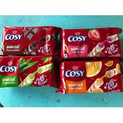 Bánh quế Cosy hộp 135g đủ mùi