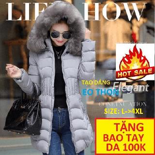 ÁO PHAO Stylenew,Áo khoác nữ big size dài - AOPHAODAICAOCAP .102 thumbnail
