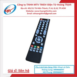 Remote Điều Khiển Tivi ASANZO, Ti Vi LCD, TV LED