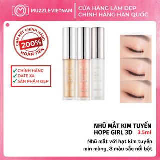 Nhũ mắt Hope Girl 3D Edge Eye Glitter Cho Đôi Mắt Long Lanh - Muzzle Việt Nam - HGEYE03 thumbnail