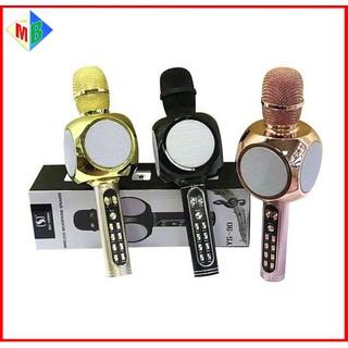 Mic Karaoke Bluetooth YS90 Kèm Loa Chính Hãng Dùng Cho Điện Thoại, Máy Tính Bảng, Laptop - ys90 thumbnail