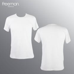 Áo lót nam Freeman - Cổ tròn tay ngắn, chất liệu cotton thoáng mát TSF313