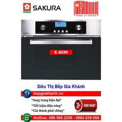 Lò nướng kèm hấp lắp âm tủ Sakura E-8690 sản xuất Trung Quốc