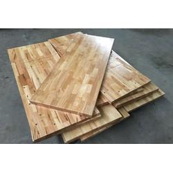 (Giá Tại Xưởng)Mặt bàn gỗ cao su đầy đủ kích thước đã sơn,phủ bóng và bo góc- Mua về là dùng