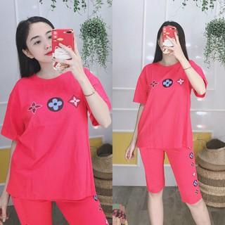Đồ bộ mặc nhà phối họa tiết - K35 thumbnail
