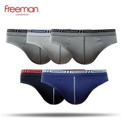 Quần lót nam Freeman, chất liệu cotton, kiểu dáng trẻ trung, giá thành phù hợp [Combo 5] BO303
