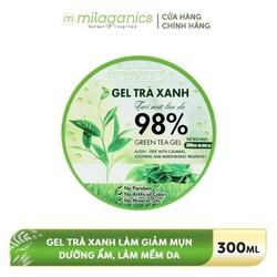 Gel dưỡng da Trà xanh MILAGANICS 300ml