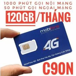 SIM C90N MIỄN PHÍ THÁNG ĐẦU 4GB NGÀY 1050 PHÚT GỌI SIÊU KM SỐ ĐẸP