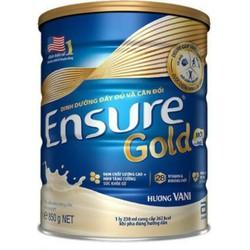 Sữa Ensure gold, HMB, hương vani, 850g
