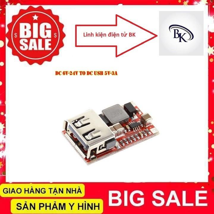 Module Nguồn Hạ Áp Có Cổng USB Sạc Điện Thoại 5V 3A- linhkiendientubk - 3215_46714027 3