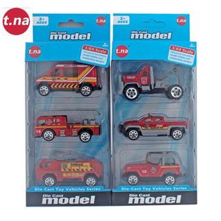 Bộ 3 xe mô hình kim loại (1 64) TNA TN-1018B - TN-1018B thumbnail
