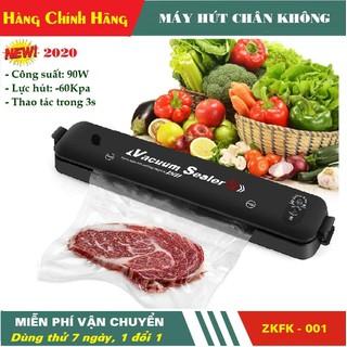 Máy hút chân không thực phẩm mini gia đình Vacuum Sealer Kiêm máy hàn miệng túi - Máy hút chân không Vacuum Sealer thumbnail