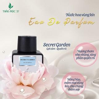 [ CHÍNH HÃNG ] Nước hoa vùng kín SECRECT GARDEN Thảo mộc 37( nước hoa xanh) lưu hương 48h - NHVK thumbnail
