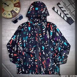 Áo Khoác Free Fire màu xám giá rẻ dành cho nam chất liệu cực đẹp in hình thẻ vô cực mùa 19