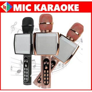 Mic Karaoke Bluetooth YS91 Âm Thanh Siêu Đỉnh dùng cho Điện Thoại, Máy Tính Bảng, Laptop - ys91 thumbnail