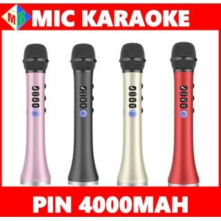Mic Karaoke Bluetooth Cao Cấp L698 Chính Hãng Dùng Cho Điện Thoại, Máy Tính Bảng, Laptop - l698 thumbnail