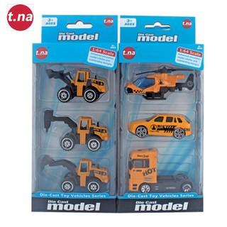 Bộ 3 xe mô hình kim loại (1 64) TNA TN-1018A - TN-1018A thumbnail
