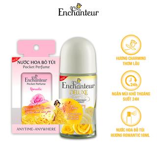 Lăn khử mùi nước hoa Enchanteur Charming Magic 50ml - Tặng Nước hoa bỏ túi 18ml - RL50ml thumbnail