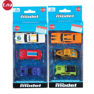Bộ 3 xe mô hình kim loại (1 64) TNA TN-1018I - TN-1018I thumbnail