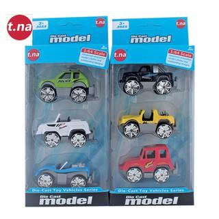 Bộ 3 xe mô hình kim loại (1 64) TNA TN-1018F - TN-1018F thumbnail