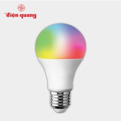 Đèn LED Bulb Thông Minh Điện Quang Apollo ĐQ SBU11A60SM 077DW 7W, đa chức năng, điều khiển sắc màu RGB, SIG Mesh
