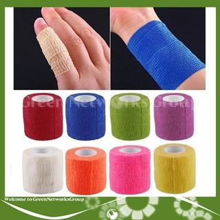 Băng cuốn khớp chống chấn thương, vải tự dính, phục vụ y tế thể thao - Khổ 5cm Greennetworks ( màu ngẫu nhiên ) - 0101100201913 thumbnail
