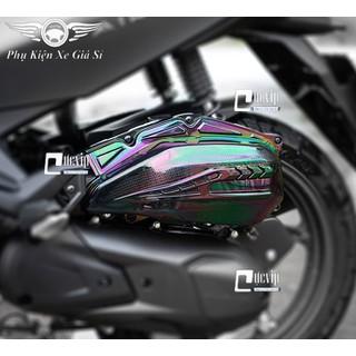 Ốp Pô E Titan 7 Màu Cho AirBlade 2020 (2016 - 2020), Vario 2015 - 2017, Vario 2018 - 2020 (125cc), PCX 2014 - 2017, SH Mode MS3581 - MS3581 thumbnail
