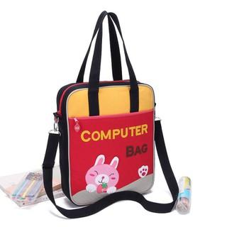 Túi đeo vai - VIDEO ẢNH THẬT - Túi đeo vai COMPUTER BAG vừa laptop, vừa A4 - B108 thumbnail