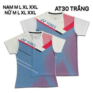 Áo cầu lông Yonex 2020 Nam Nữ Trắng AT30 - 156 thumbnail
