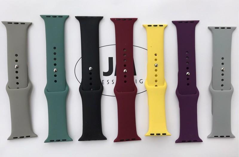 FREESHIP- Dây cao su đồng hồ Apple Watch loại cao cấp- size 38 40 42 44mm (Chống hôi,thoát nước) - 35254648945612 1