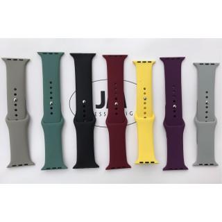 Dây cao su đồng hồ Apple Watch loại cao cấp- size 38 40 42 44mm ( Chống hôi,và thoát nước) - 23121123313111 2