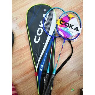Vợt cầu lông - gồm 2 vợt kèm túi thumbnail