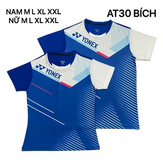 Áo cầu lông Yonex 2020 Nam Nữ Xanh Bích AT30 - 158 thumbnail