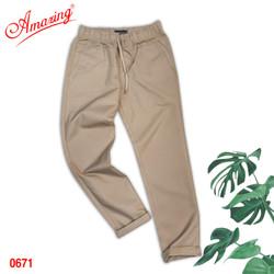 Quần Baggy nam Amazing, chất liệu kaki, form suông Unisex, tôn dáng đẹp, trẻ trung, big size